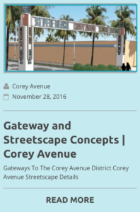 Gateways of Corey Avenue