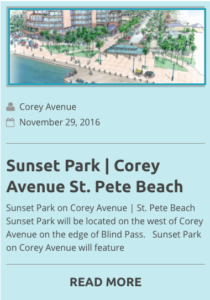 Sunset Park Corey Avenue